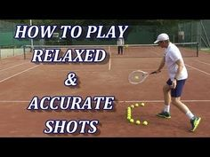 Tennis Racket Head Acceleration For High Consistency - YouTube #therulesoftennis