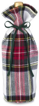 Classic Stewart Tartan Wine Bottle Tote from Williams Sonoma Home