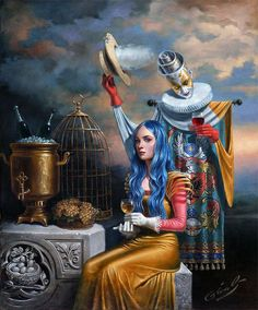 25 Absurdity Illusion Paintings by Michael Cheval - Master of Imagination