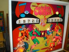 Swinger 1972 Pinball Wizard, Flipper, Old Coins, Arcade Games, Childhood, Cool Stuff, Image, Arcade Game Machines, Games