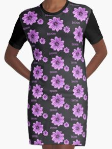 Bloom Graphic T-Shirt Dress 20% off today use code CARPE20 #redbubble #newfromredbubble #redbubbledress #digiprint #printeddress #print #pattern #patterneddress #graphicdress #graphic #sublimation #dyesublimation #alternative #fashion #ss16 #indie #indiedesign #design #tshirtdress #minidress #women #fashion #newdress #newclothes #floraldress #floral #flowers #flower #pink #pinkflower