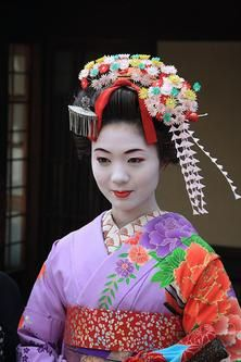 Znalezione obrazy dla zapytania japonka Geisha, Make Up, Colours, Lamb, Inspiration, Vintage, Clothes, Fashion, Biblical Inspiration
