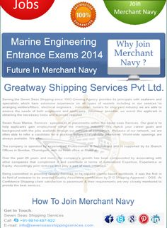 how to get admission in merchant navy