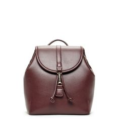 The Kyllie Small vegan backpack from Sole Society. Designer Backpack Purse, Designer Backpacks, Oxblood, Exclusive Collection, Girls Best Friend, Designing Women, Leather Backpack, Bucket Bag, Handbags