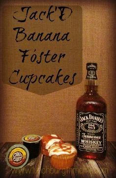 Jack'D Banana Foster Cupcakes Recipe