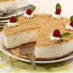 Receita de semifrio de natas com bolacha. Cheesecakes, Portuguese Recipes, Vanilla Cake, Deserts, Good Food, Food And Drink, Pudding, Favorite Recipes, Sweets
