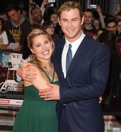 Elsa Pataky y Chris Hemsworth #couples #celebrities #people
