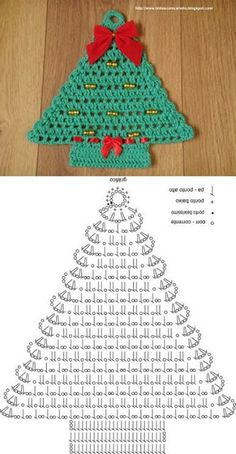 Best 12 Crochet tree, for Christmas decorations, set of 6 tree decorations, wonderful for your Christmas tree. If you want they can be - Her Crochet Crochet Christmas Decorations, Christmas Crochet Patterns, Crochet Christmas Ornaments, Holiday Crochet, Christmas Knitting, Christmas Crafts, Christmas Coasters, Tree Decorations, Christmas Ideas