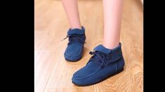 รองเท้าผ้าใบหนังแท้แฟชั่นเกาหลีหุ้มข้อสไตล์หนังกลับนำเข้าพรีออเดอร์RB2256
