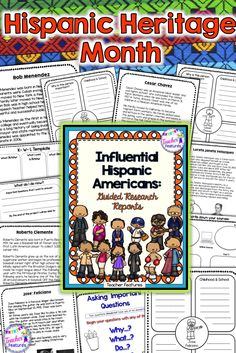 106 best hispanic heritage month best tpt products images on