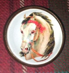 Victorian Horse Glass dome button Like Buttons, come join our Facebook group Button Button Who's Got The Button https://www.facebook.com/groups/whosgotbuttons/