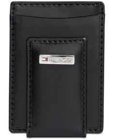 Tommy Hilfiger Fordham Front Pocket Wallet - Black