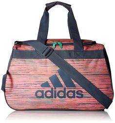 2b985ae623c8 adidas Women s Diablo Small Duffel Bag Green 100 Polyester Gym Sports Bags
