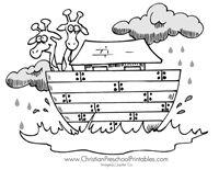 Noahs Ark Printables Crafts