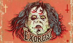 Hero Complex Gallery and Trailers from Hell have put together a Rick Baker art show, paying tribute to the legendary make-up and creature effects wizard. Horror Art, Creepy Horror, Horror Film, Horror House, Classic Horror Movies, The Exorcist, Classic Monsters, Scary Movies, Cool Artwork