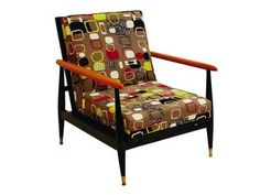 Imagine you nicked a chair from the school staff room  recovered it in Sanderson fabric....