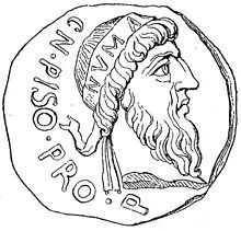 Numa Pompilius.  2nd King of Rome, successor of Romulus, chosen by the Senate.  He was Sabine. Considered wise, pious, peaceful and calculating.  He valued hard work and farming over war.