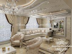 Гостиная - Дизайн коттеджей
