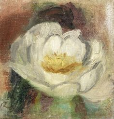 Pierre-Auguste Renoir (French, 1841-1919) Rose (Painted circa 1900)