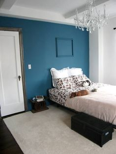 The Paint Color Is Benjamin Moore Blue Spa 2052 40 It Actually Went Bluer Than I Thought
