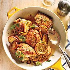 Meyer Lemon Chicken Recipe | MyRecipes.com Mobile