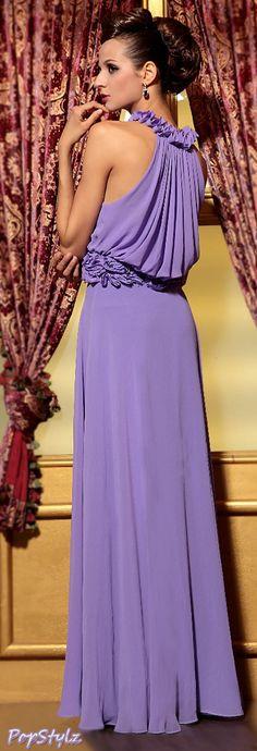 Zuhair Murad Purple Gown