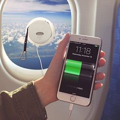 6000 mAh Solar Powered Phone Charger - External Battery P...