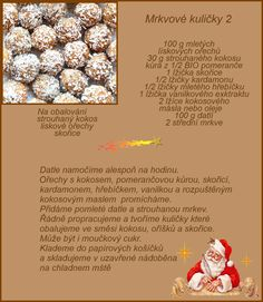 Christmas Sweets, Christmas Cookies, Xmas, Vegetarian Recipes, Cooking Recipes, Food And Drink, Treats, Baking, Paleo