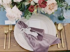 Dusty Rose Plush Velvet Napkin and Spa Linnea Runner on a rustic wood dining table Budget Wedding, Wedding Vendors, Wedding Events, Wedding Planning, Velour Fabric, Bridal Beauty, Plate Sets, Dusty Rose, Wedding Details