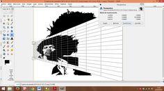 Tercer paso: Haz la misma operación con la parte superior izquierda, pero esta vez arrastra el cursos hacia abajo. Mientras más transformes la imagen mejor efecto obtendrás. Cuando tenga la imagen a tu gusta pincha en transformar, está justo a la derecha en el cuadro superior que te apareció al abrir la herramienta.