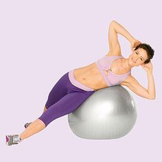 The Side Wall Crunch #exercise works your abs and obliques.