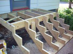 Entry Landing Step - Northfield Construction Company