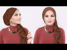 This is my favorite everyday simple hijab style at the moment! This hijab style is super easy and fast to achieve! Hijab I'm using is from Uniquehijabs! Turban Hijab, Mode Turban, Simple Hijab Tutorial, Hijab Style Tutorial, Hashtag Hijab, Turban Tutorial, Scarf Styles, Hijab Styles, Hijab Fashion Inspiration