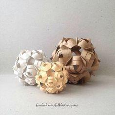Origami Kusudama Cofo design Falk Brito