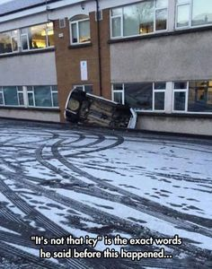 Never Trust The Icy Roads