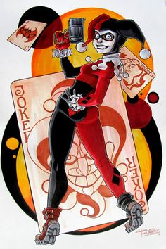 Harley Quinn by ~KidNotorious