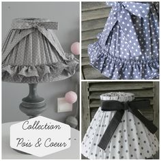 Abat-jours Shabby Chic Romantique, Cottage Shabby Chic, Creation Deco, Baby Pillows, Lamp Shades, Beautiful Hands, Diy And Crafts, Sewing Projects, Fabric