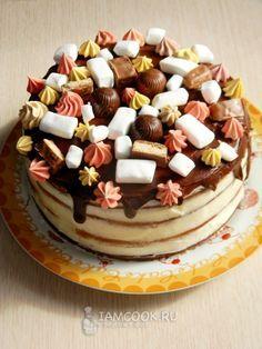 Торт «Колибри» — рецепт с фото