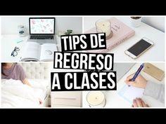 TIPS PARA EL REGRESO A CLASES: ¡ESTUDIA Y ORGANIZATE MEJOR! + OUTFITS - YouTube