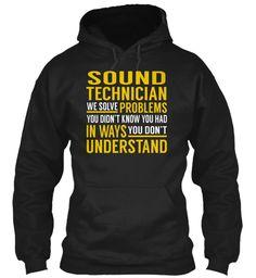 Sound Technician #SoundTechnician