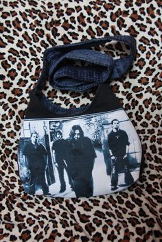 Upcycled Seether Concert T-Shirt Purse by evilrose