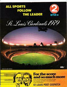 1979 Cardinals Scorecard