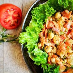 Tahini, Lettuce, Curry, Vegetables, Food, Curries, Essen, Vegetable Recipes, Meals
