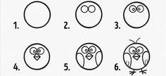 Kids love to learn tricks in . - Kids love learning tricks in painting! - Kids love to learn tricks in … – Kids love learning tricks in painting! Here's how to teach - Art Drawings For Kids, Bird Drawings, Drawing For Kids, Animal Drawings, Easy Drawings, Drawing S, Easy Sketches, Bird Doodle, Doodle Art