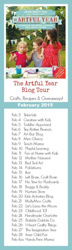 The Artful Year Blog Tour February 2015!!!