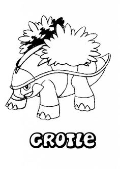 #grotle #pokemoncolouring