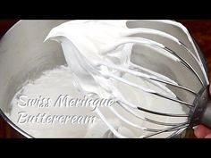 How to Make Buttercream Frosting - YouTube