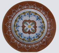 Plate #39 comes in sizes 35cm, 43cm & 48cm