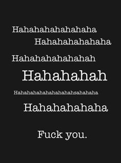 Wie het laatst lacht..