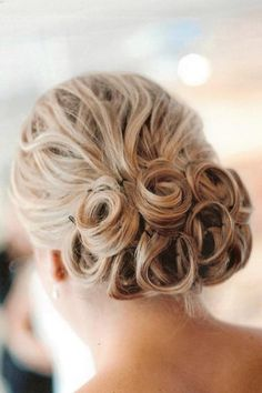 Bun of Curls